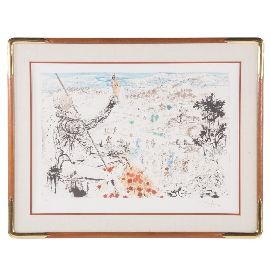 "Salvador Dali. ""L'Age d'Or"", lithograph"