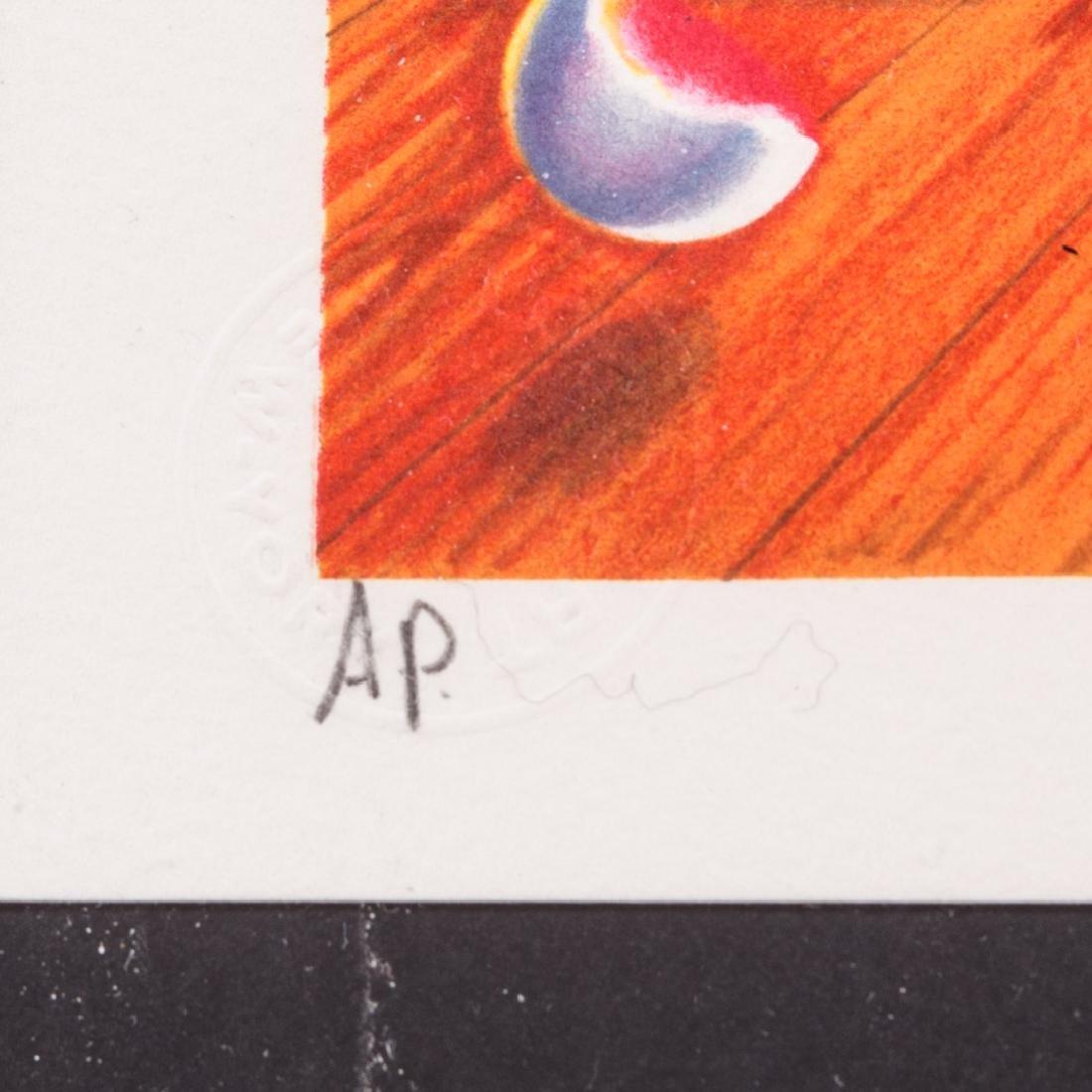 """Ferjo. """"Blue Door"""", lithograph - 2"""