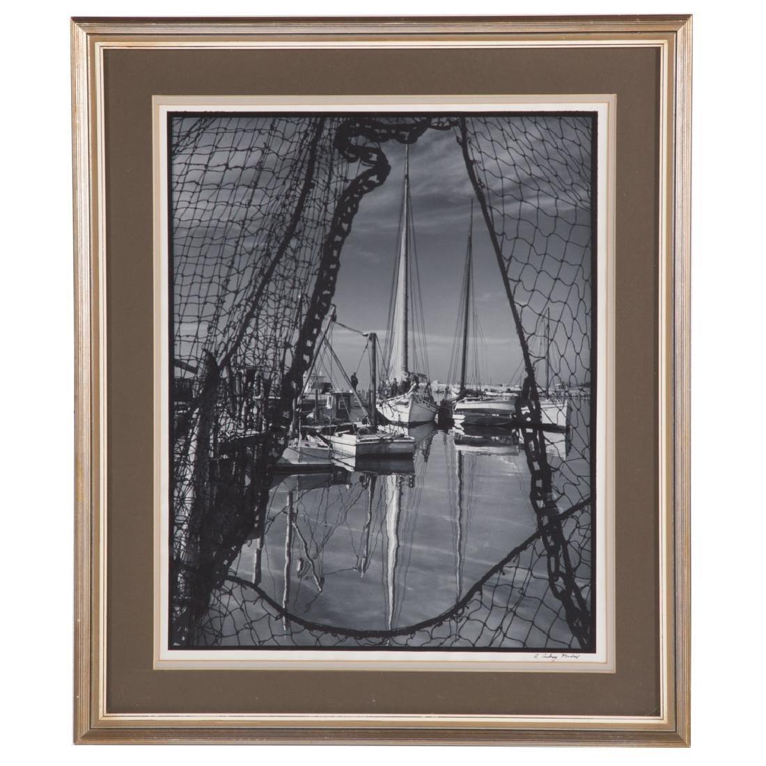 A. Aubrey Bodine. Dock Scene, photograph