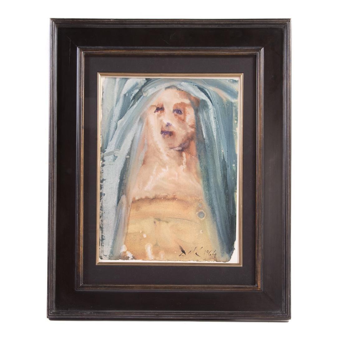 "Salvador Dali. ""Plange...,"" lithograph"
