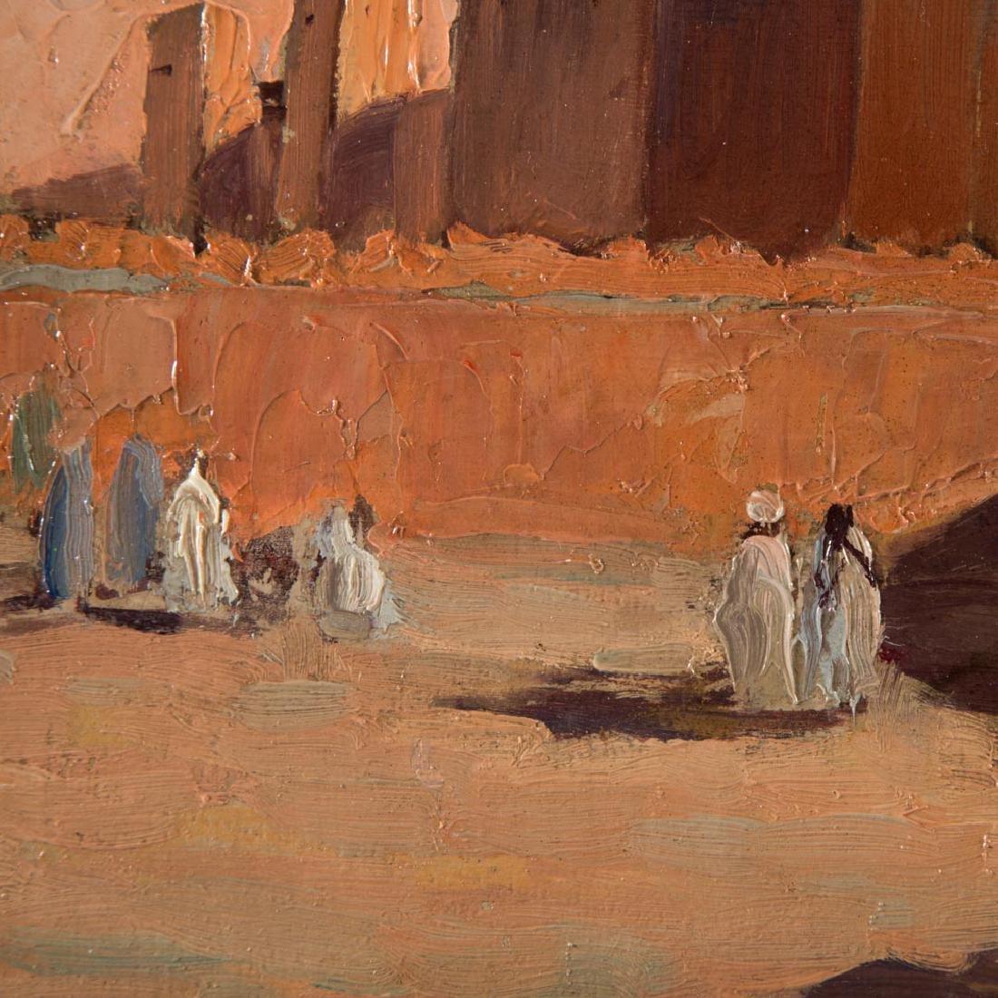 Paul Neri. Orientalist Scene, oil on board - 3