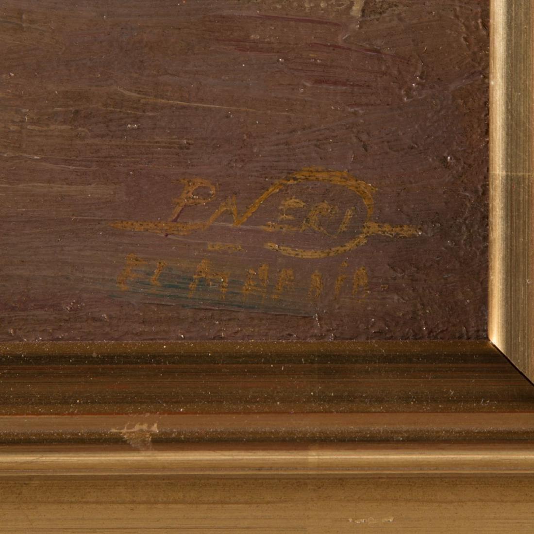 Paul Neri. Orientalist Scene, oil on board - 4