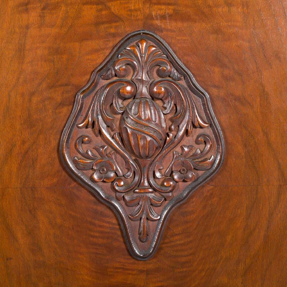 Louis XIV style walnut cabinet - 3