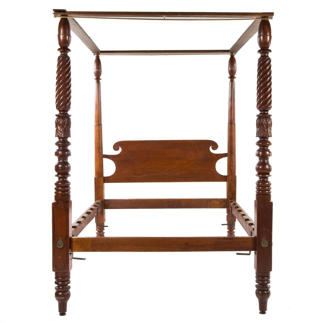 American Classical bedstead,