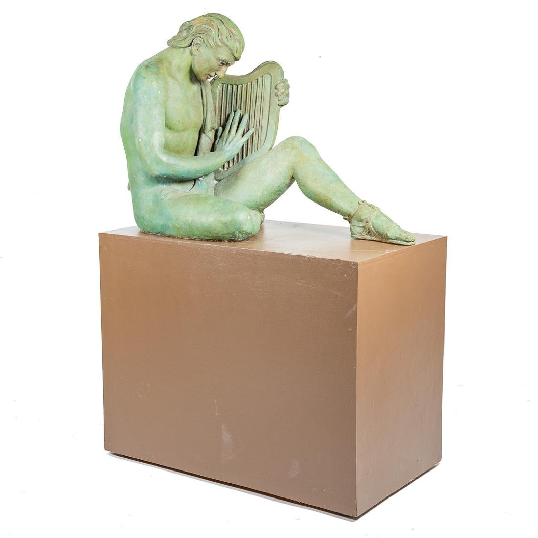 Grace Hill Turnbull, Orpheus plaster figure
