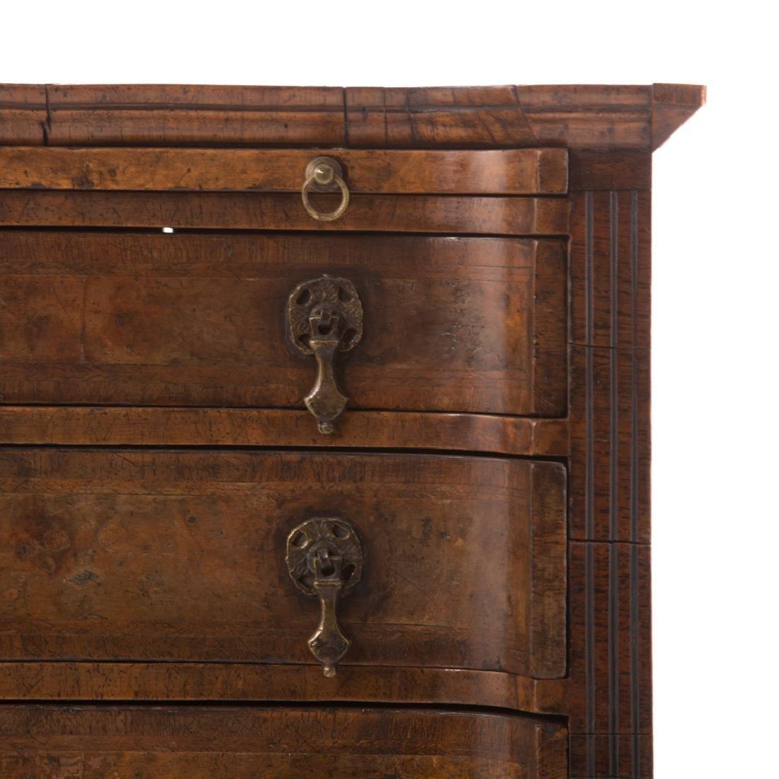 Rare miniature William IV bachelor's chest - 2