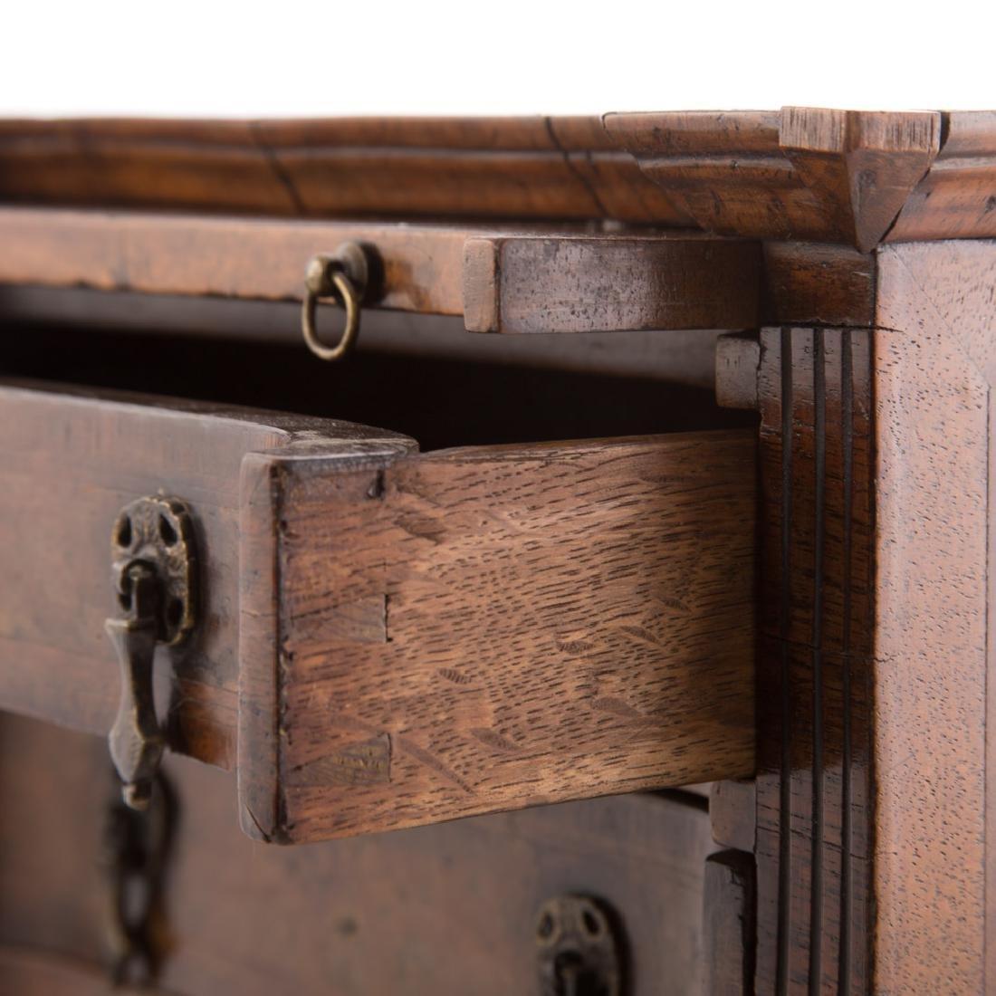 Rare miniature William IV bachelor's chest - 3