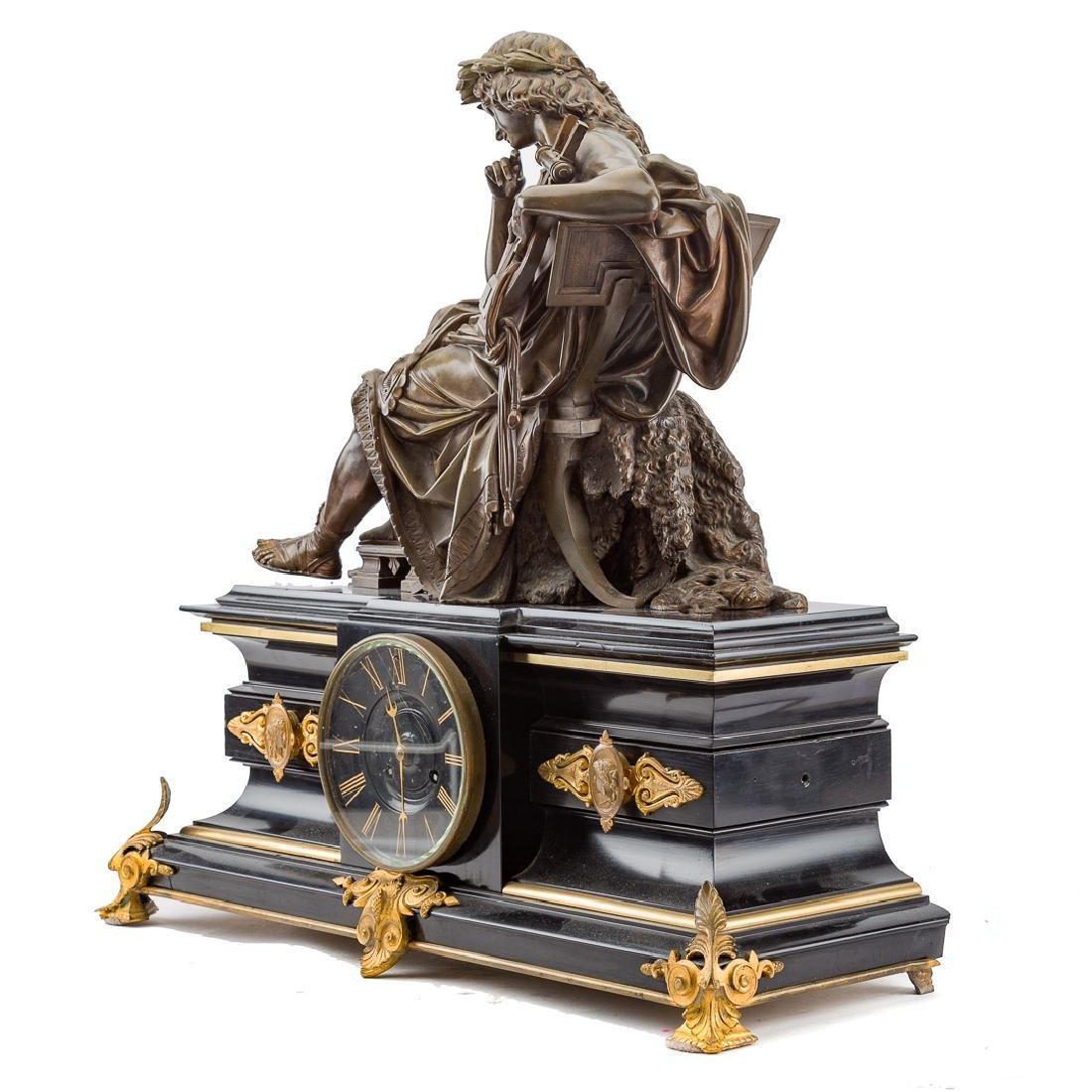 Alfred Carrier-Belleuse. Apollo figural clock - 3
