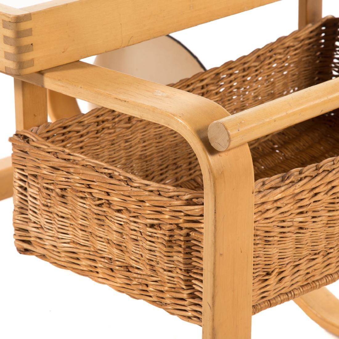 Alvar Aalto tea trolley by Artek - 4