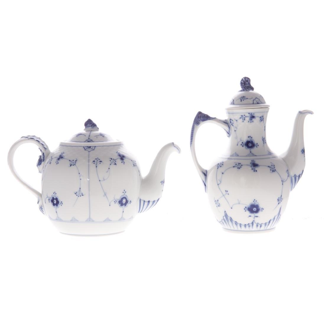 14 Royal Copenhagen porcelain table articles - 6