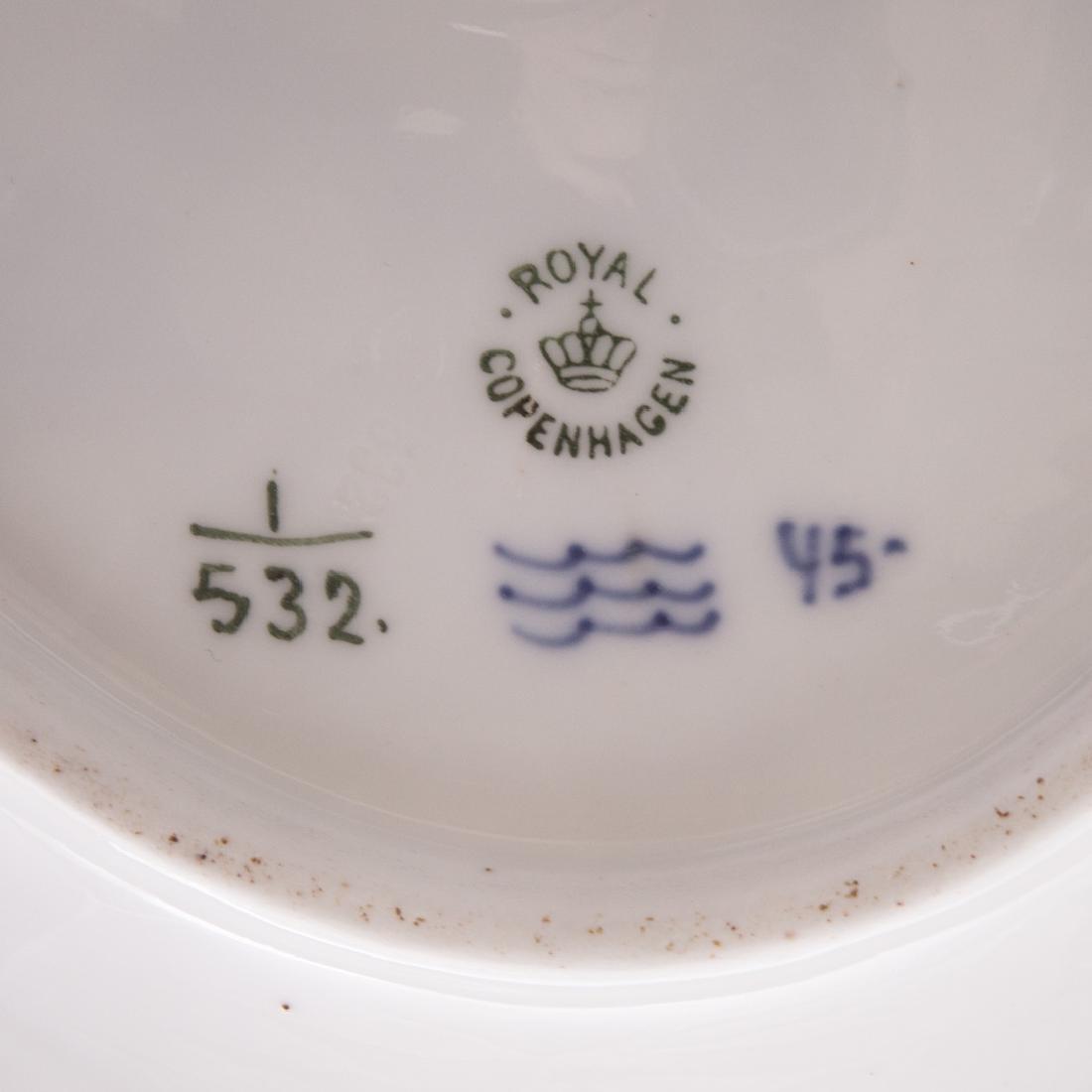 14 Royal Copenhagen porcelain table articles - 8