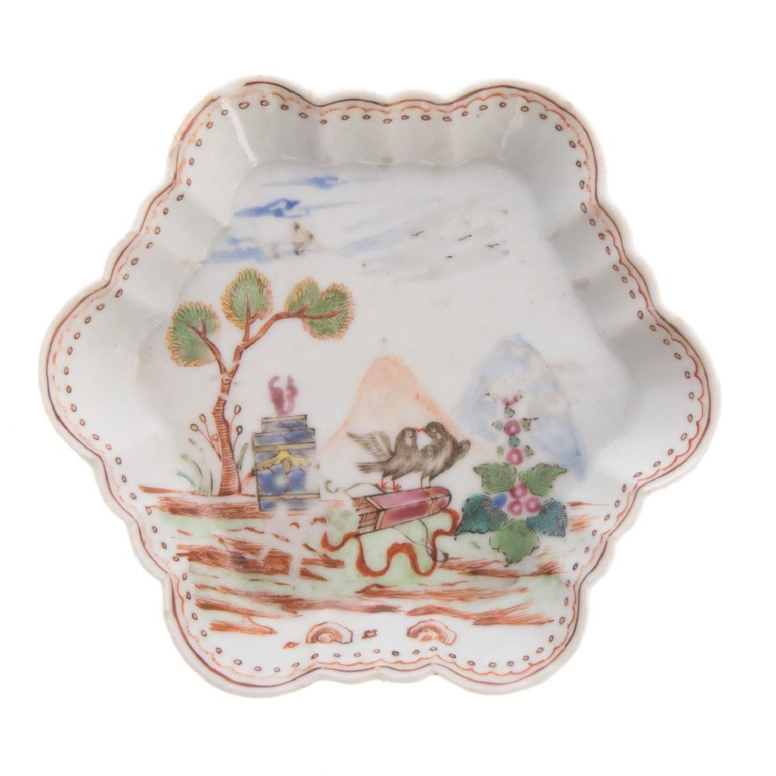 Three pieces Chinese Export porcelain - 6