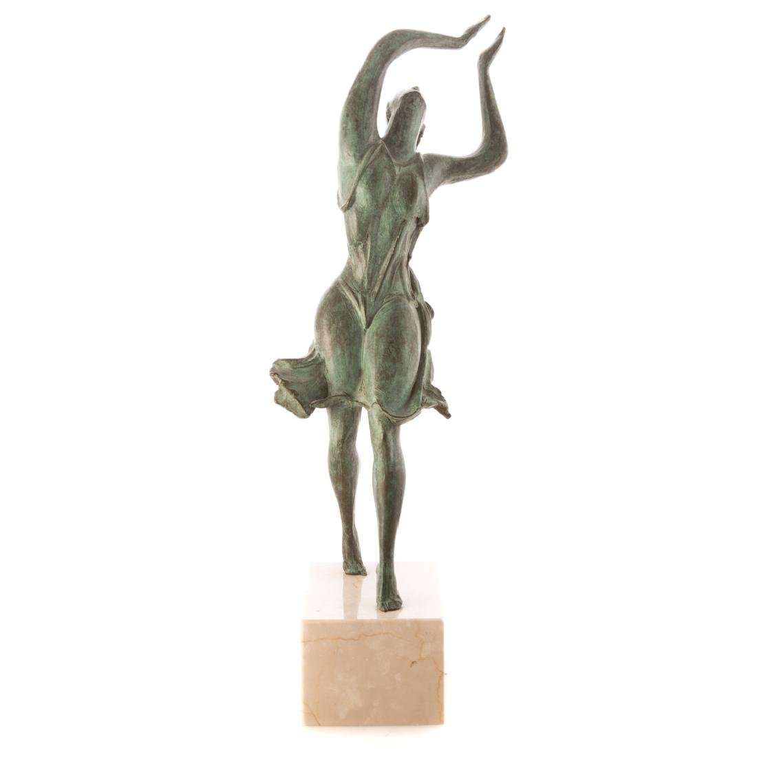 Albert Wein. Female Dancer bronze - 2