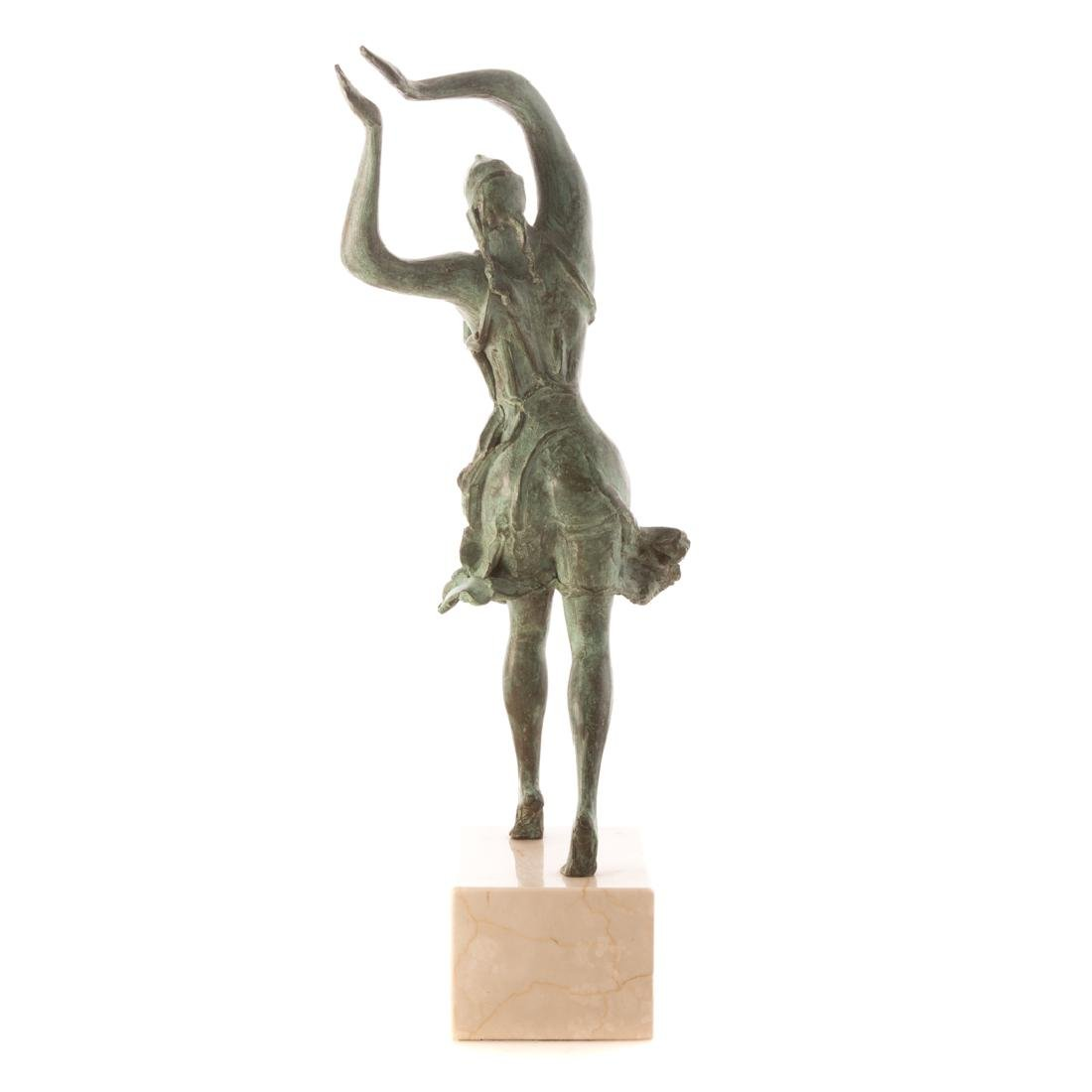 Albert Wein. Female Dancer bronze - 3
