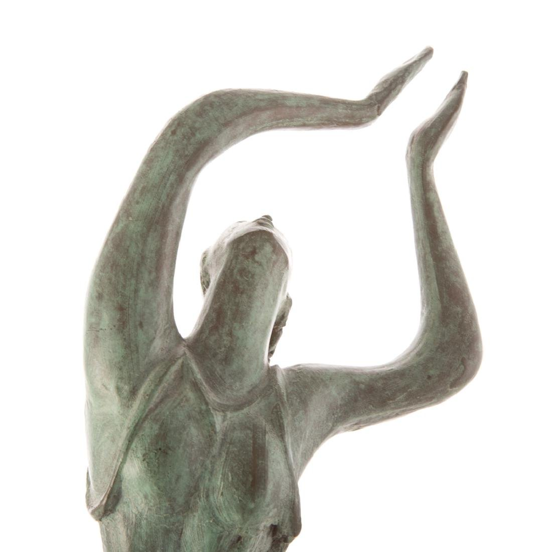Albert Wein. Female Dancer bronze - 4