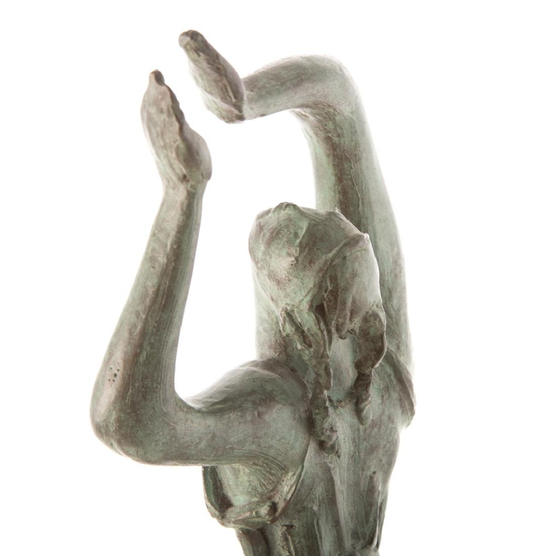 Albert Wein. Female Dancer bronze - 5