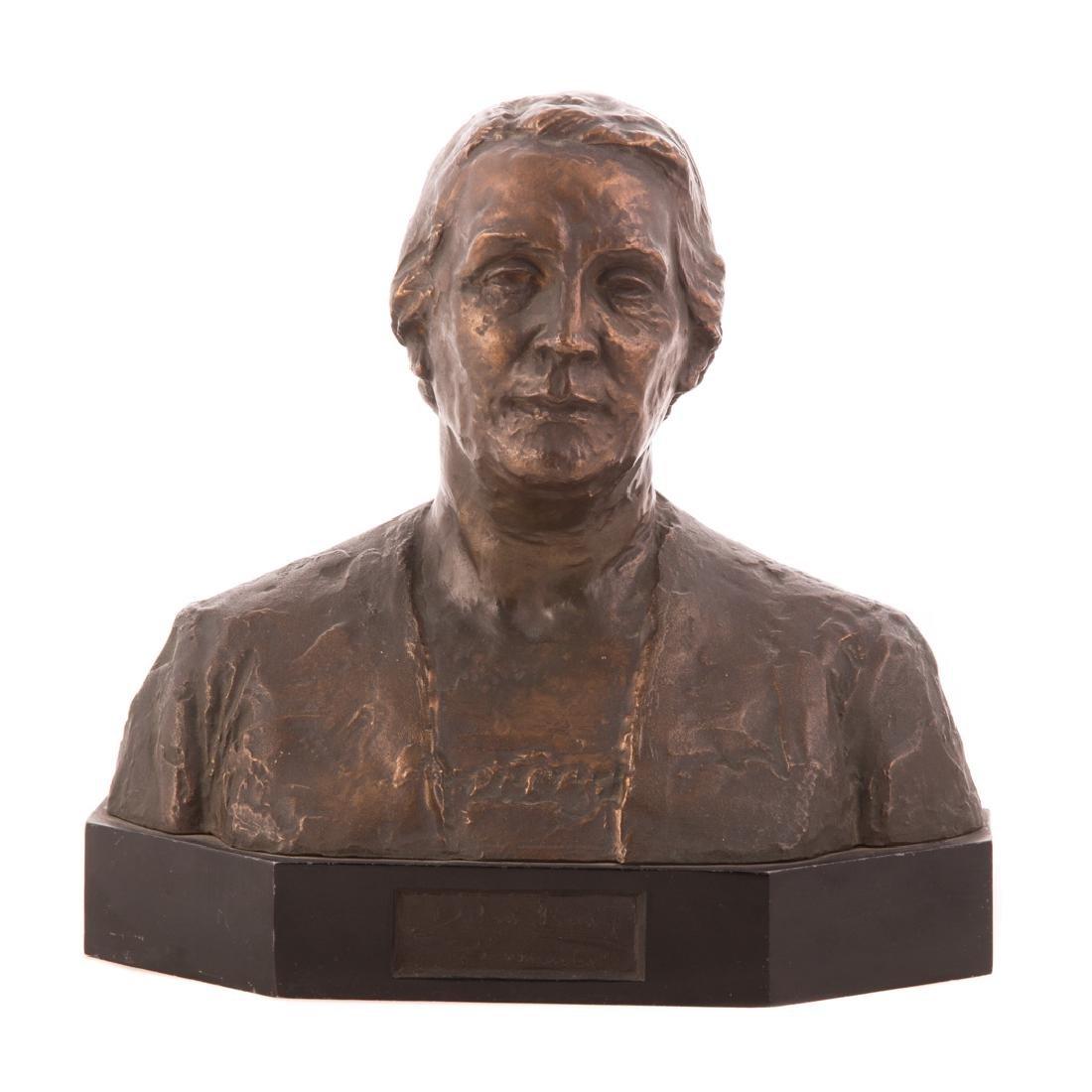 Jo Davidson. Bronze bust of Dolores Ibarrari