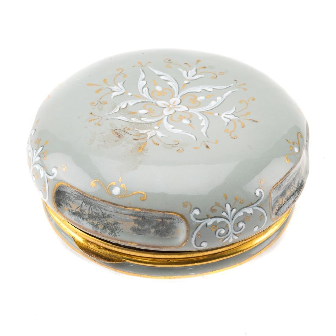 Austrian enamel dresser box - 4