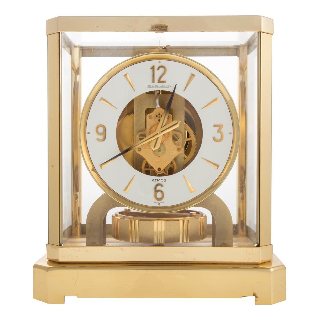 Jaegar-LeCoultre brass Atmos clock
