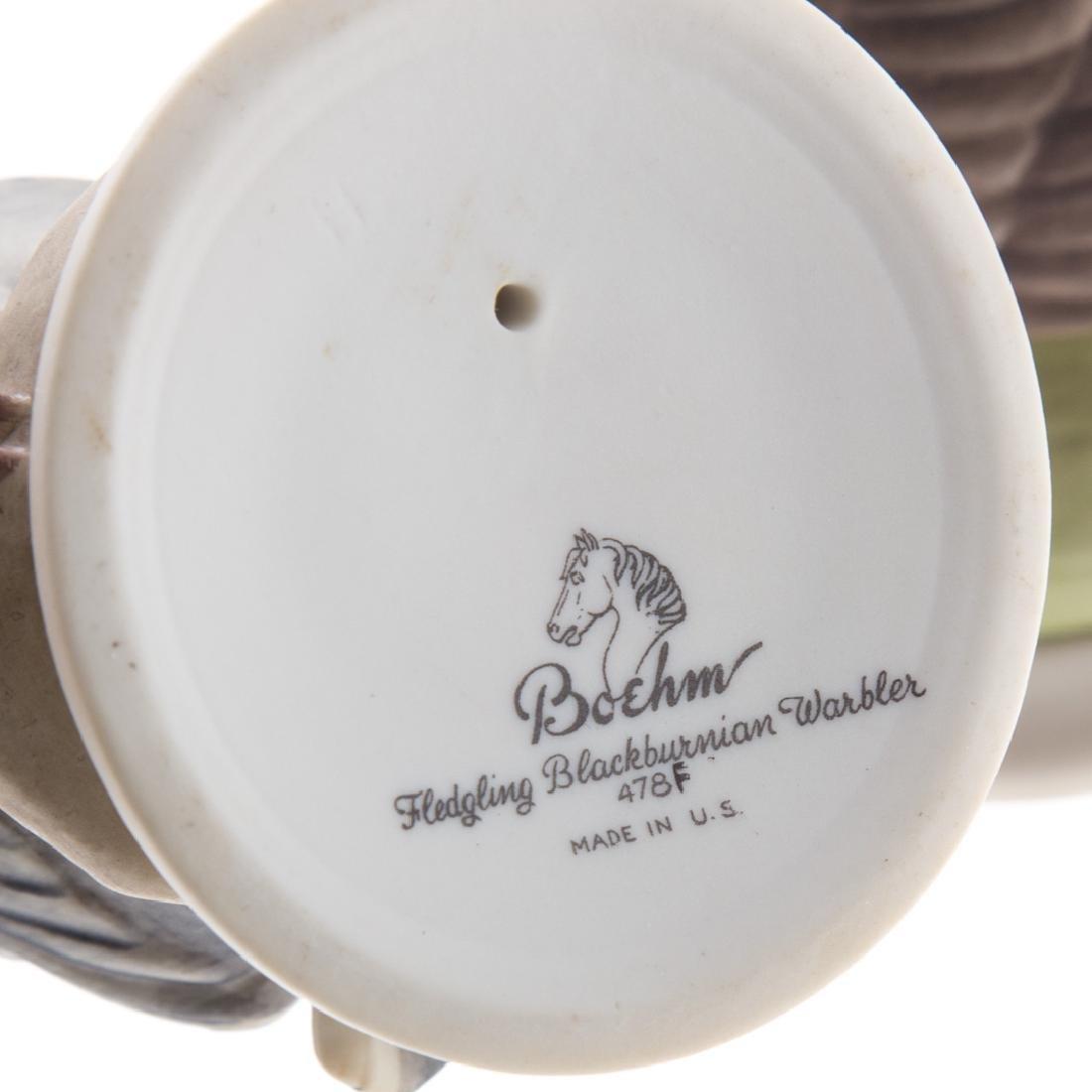 Five Boehm bisque baby/fledgling birds - 4