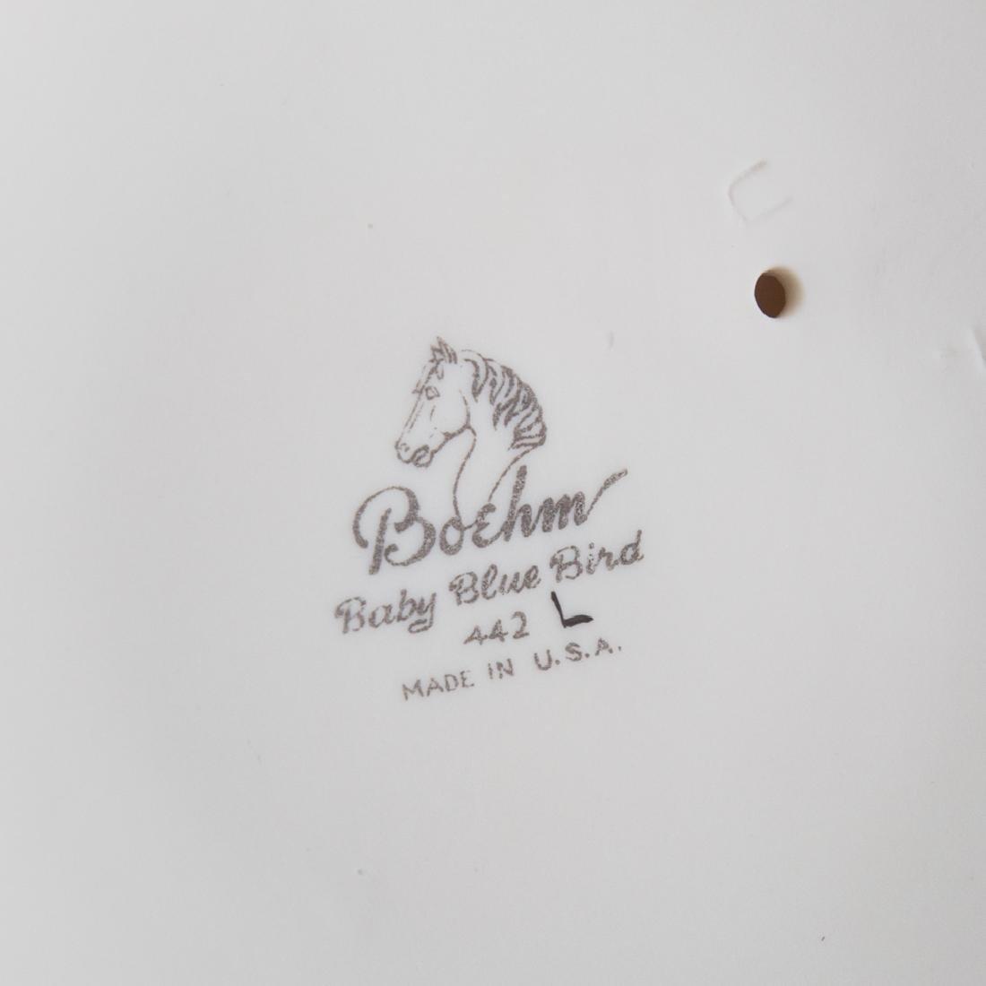 Five Boehm bisque baby/fledging birds - 3