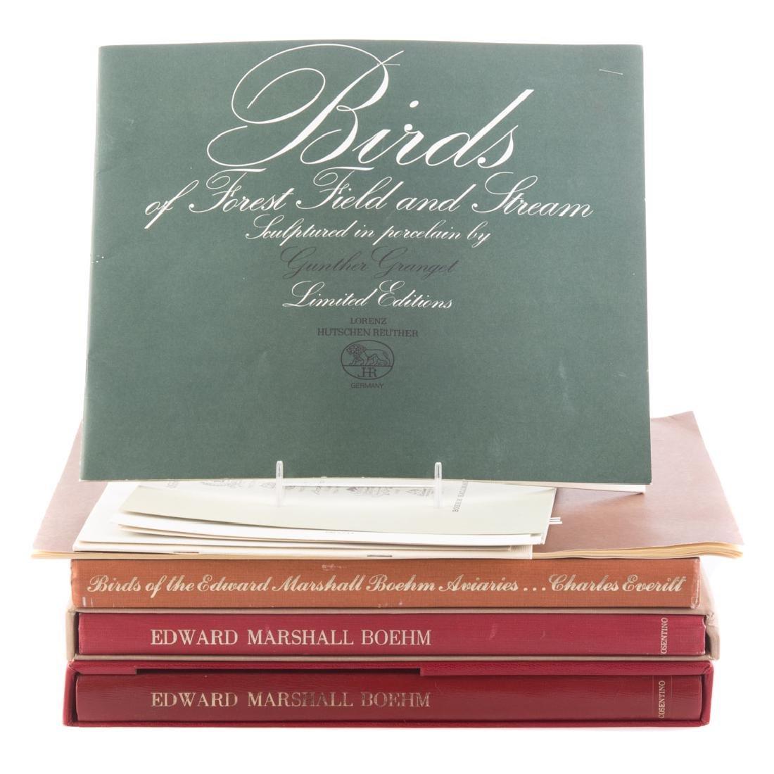 Three books on Edward Marshall Boehm