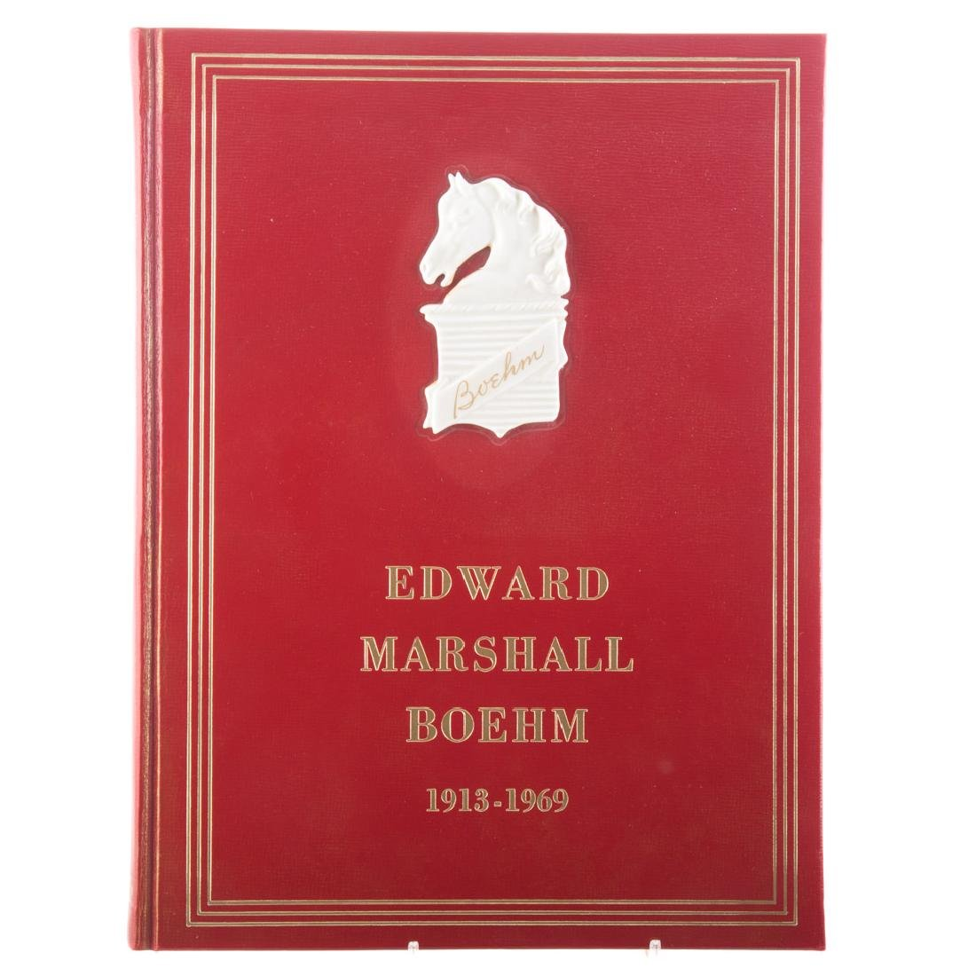 Three books on Edward Marshall Boehm - 3
