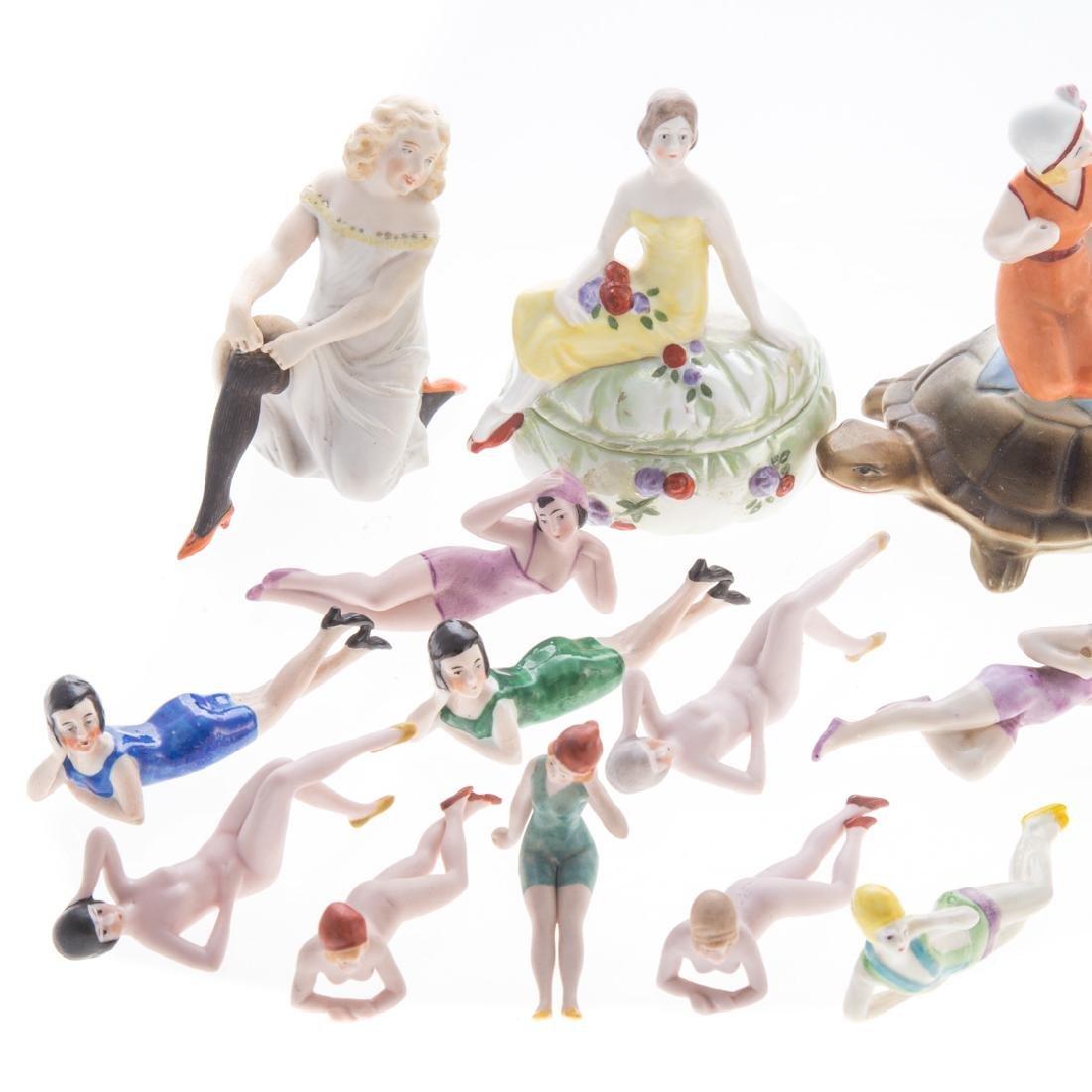 23 German/Austrian porcelain bathing beauties - 3