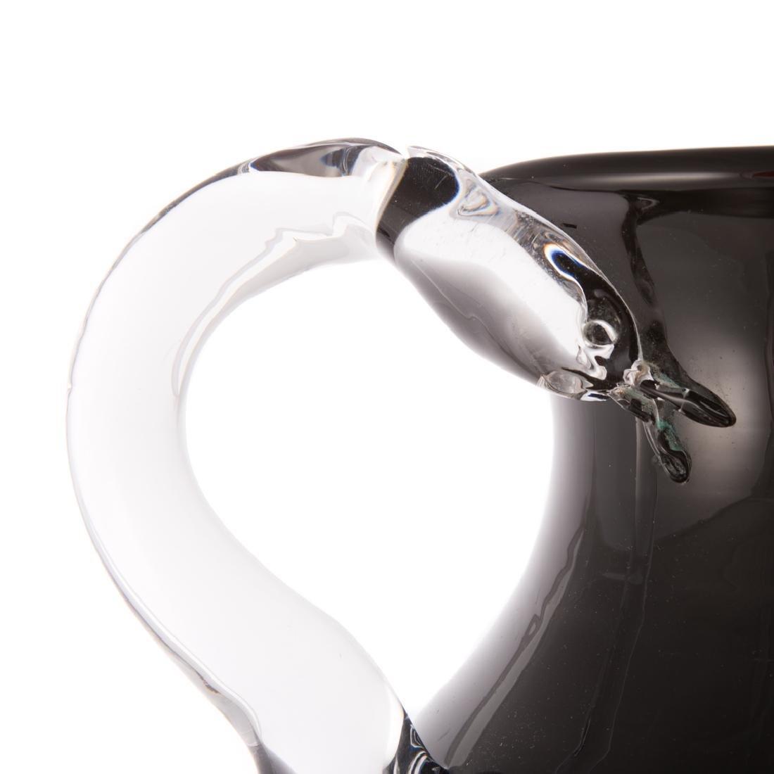 Pino Signoratto. Large amethyst glass vase - 2