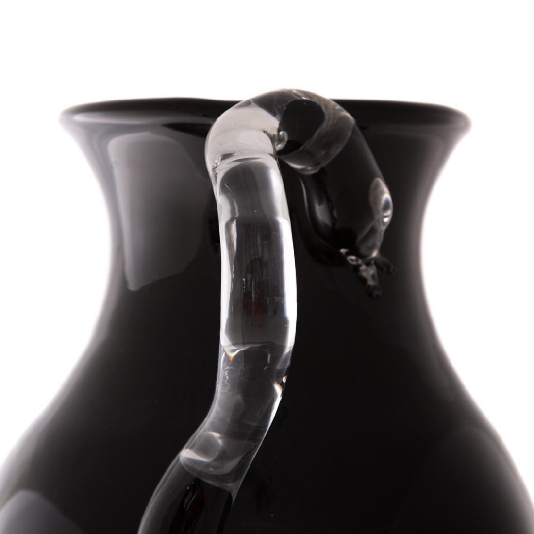 Pino Signoratto. Large amethyst glass vase - 4