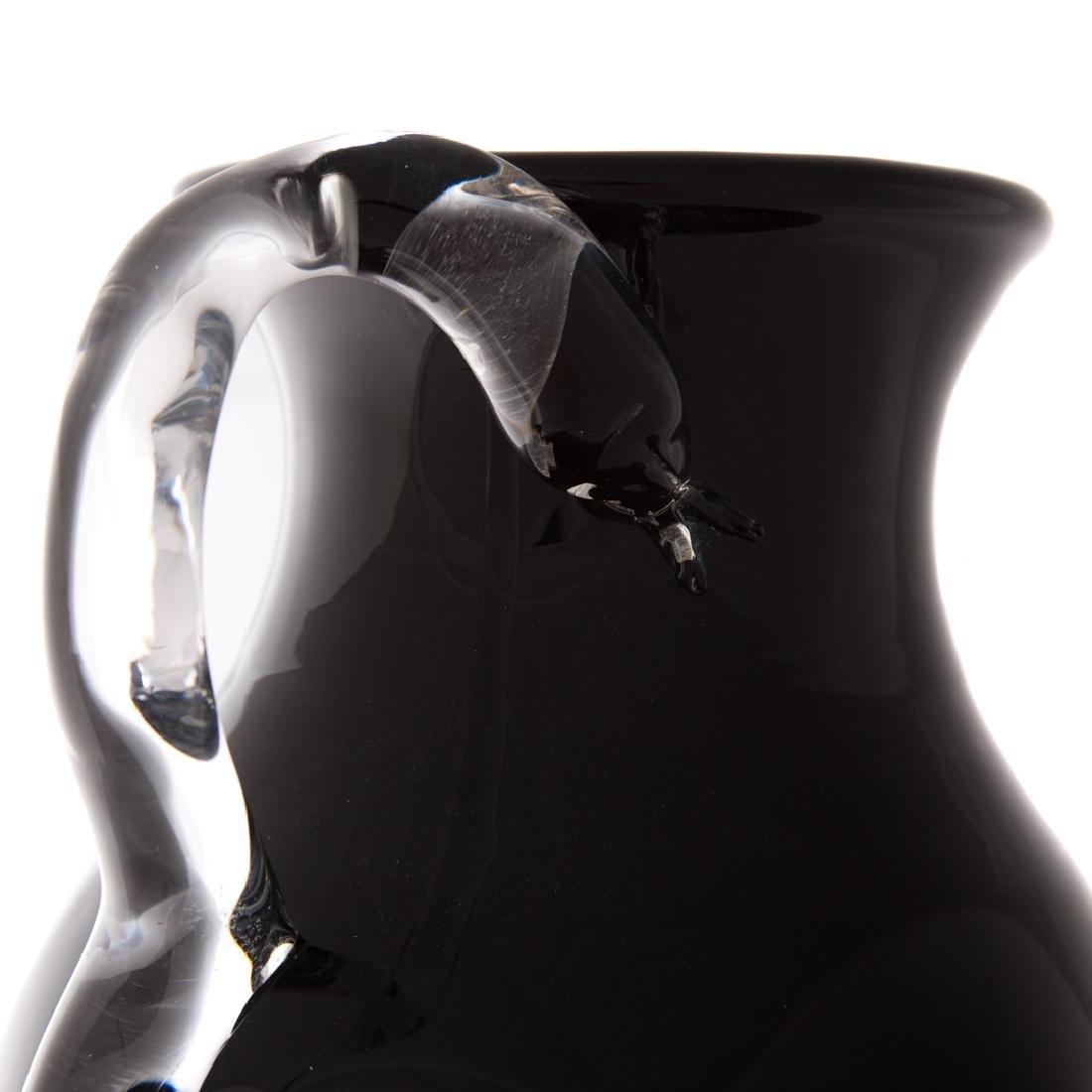 Pino Signoratto. Large amethyst glass vase - 5