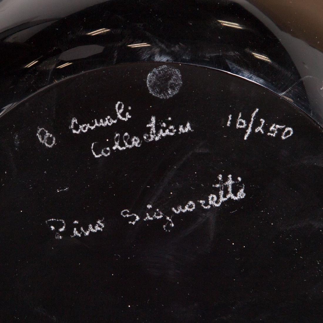 Pino Signoratto. Large amethyst glass vase - 6