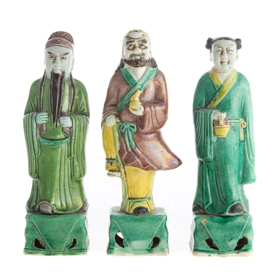 Five Chinese Export porcelain figures - 2