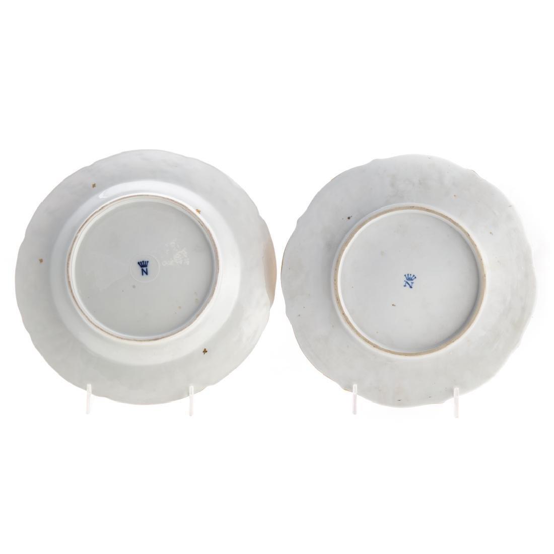 Five Capodimonte porcelain tea articles - 4