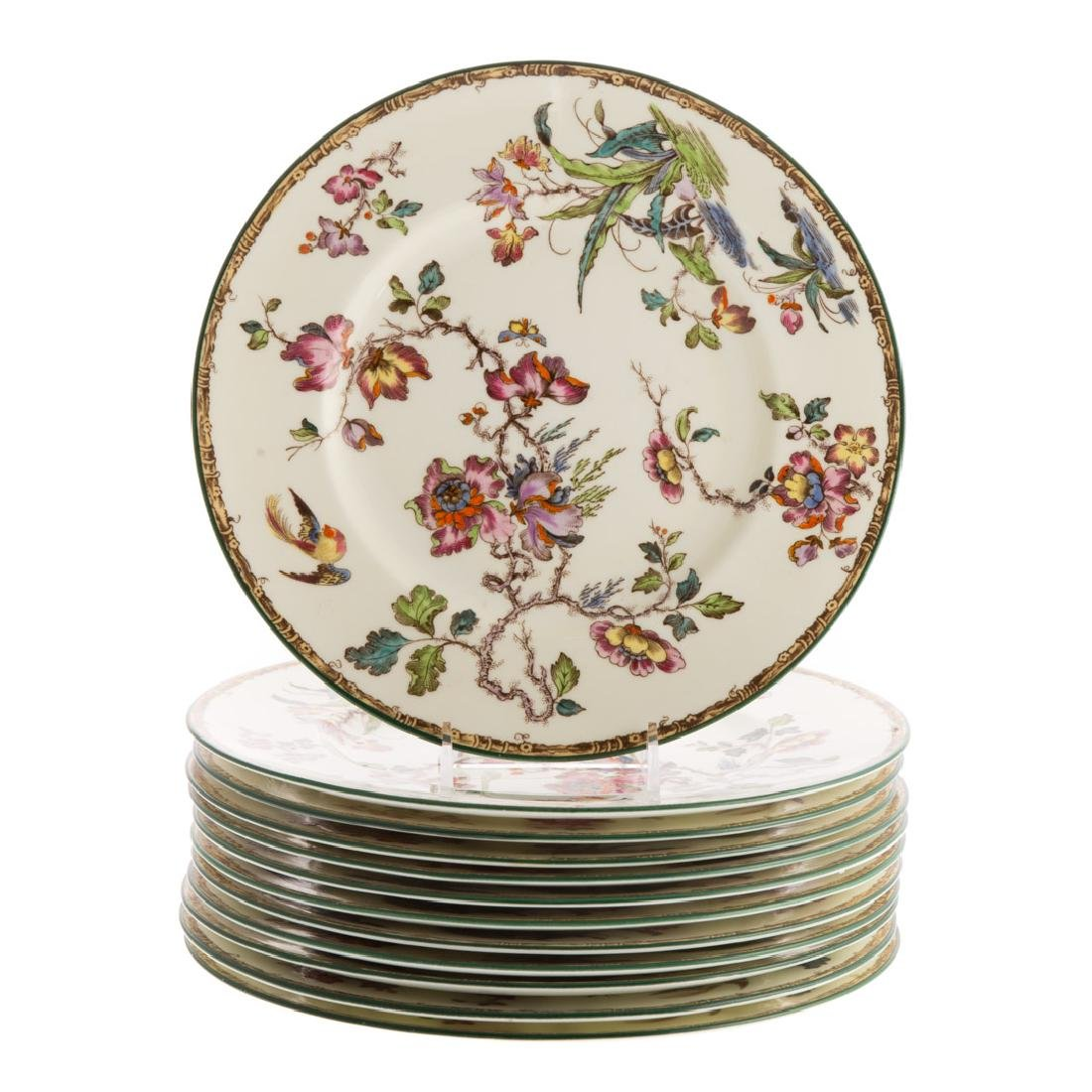 12 Wedgwood bone china dinner plates