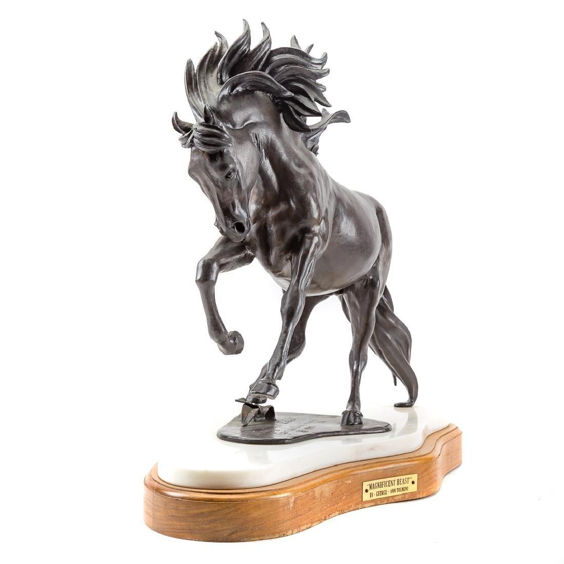 George Ann Tognoni. Magnificent Beast bronze - 2