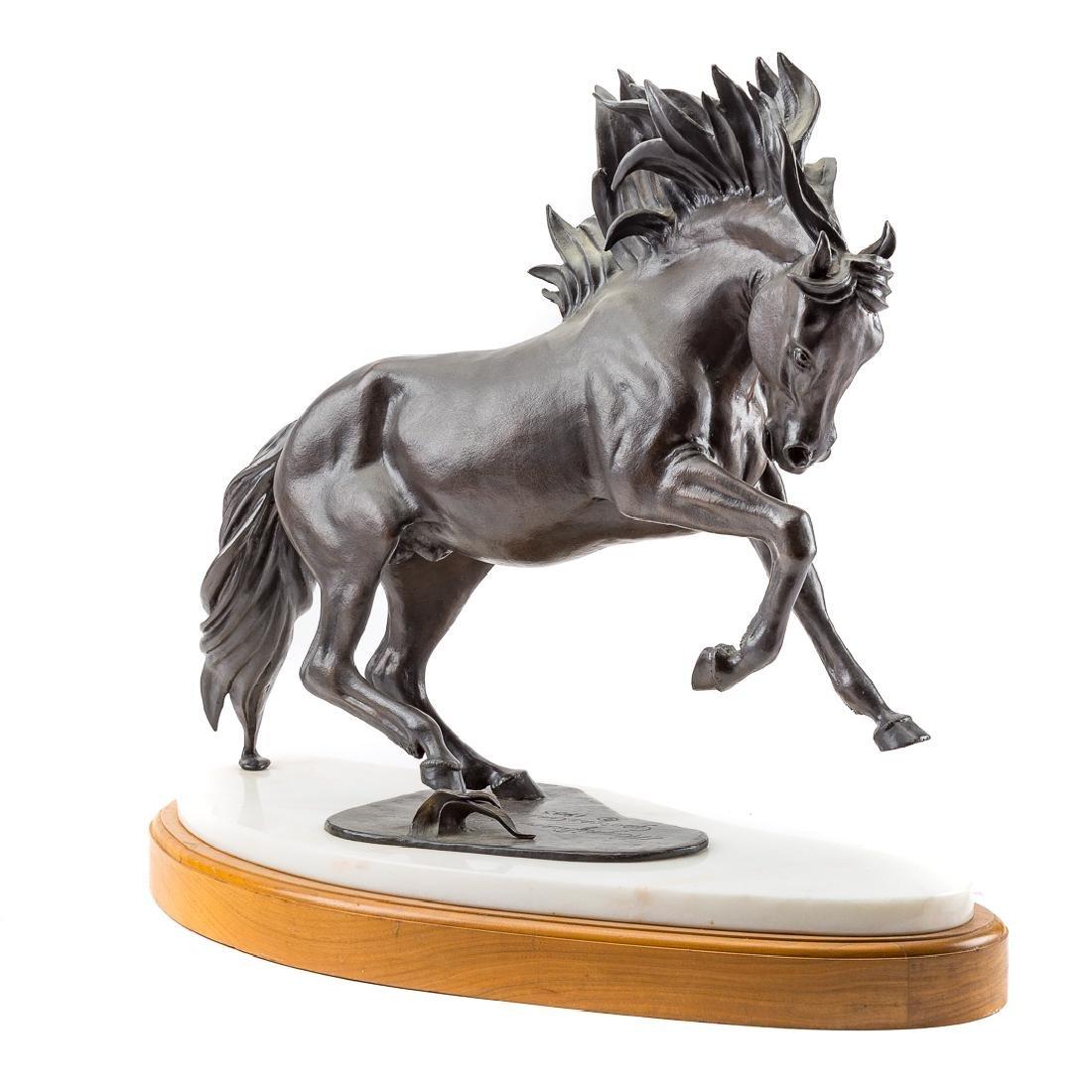George Ann Tognoni. Magnificent Beast bronze - 3