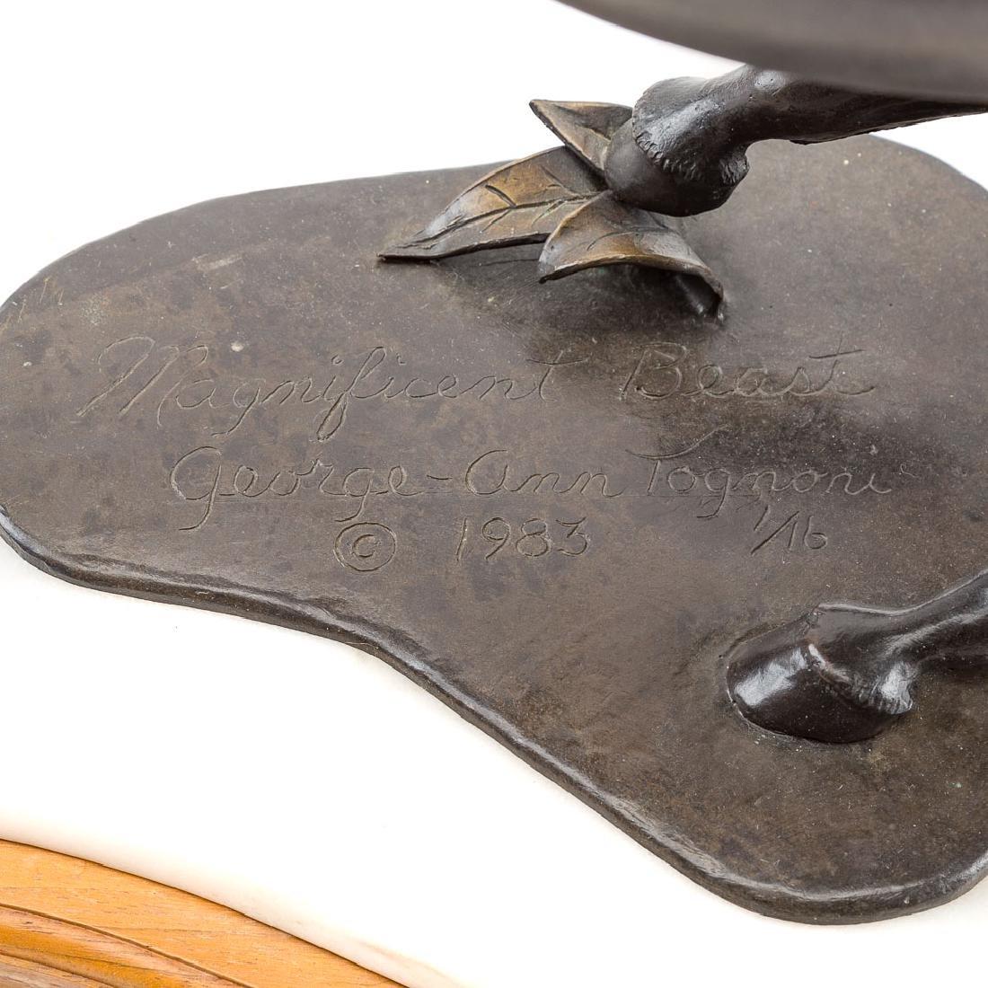 George Ann Tognoni. Magnificent Beast bronze - 5