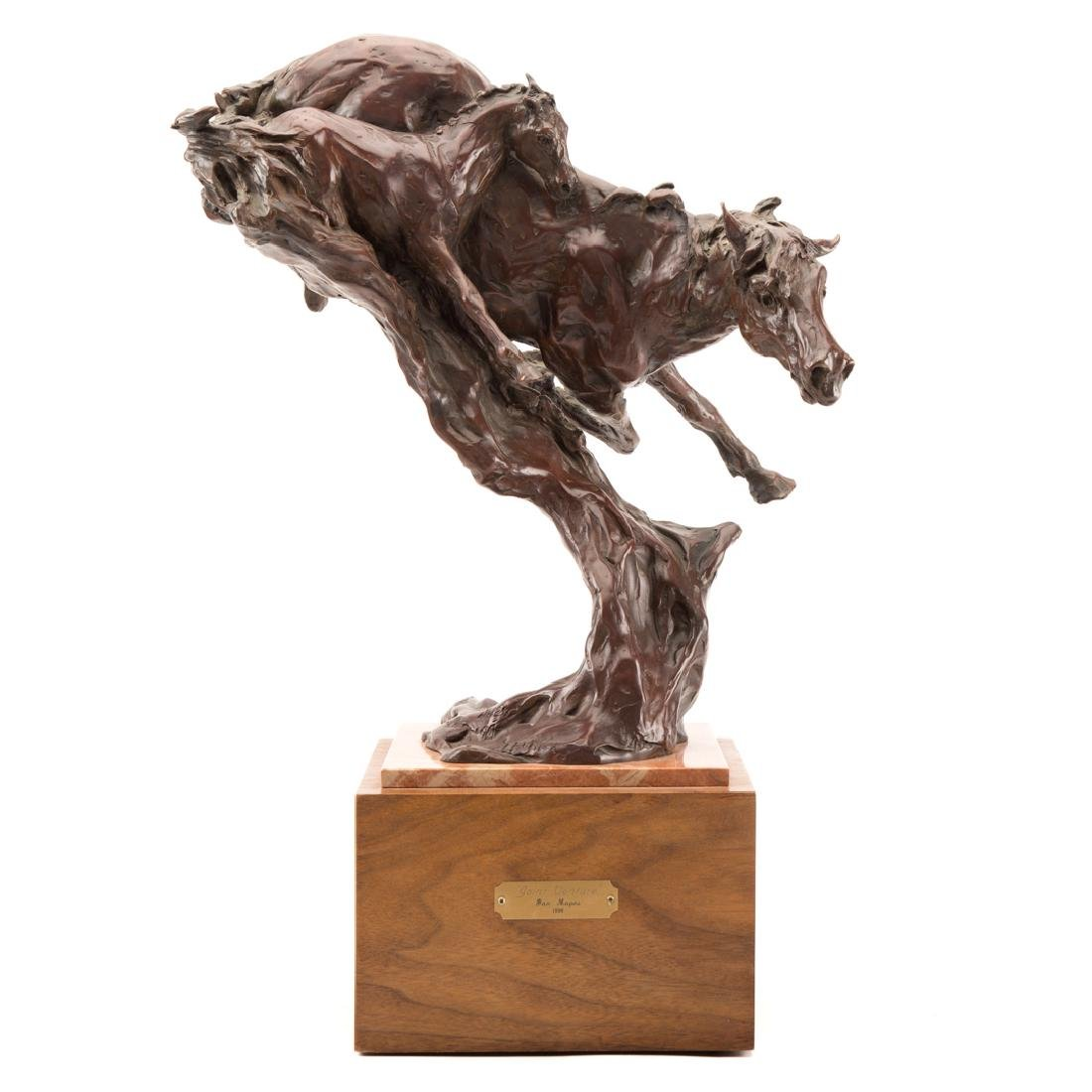 Jan Mapes. Joint Venture bronze