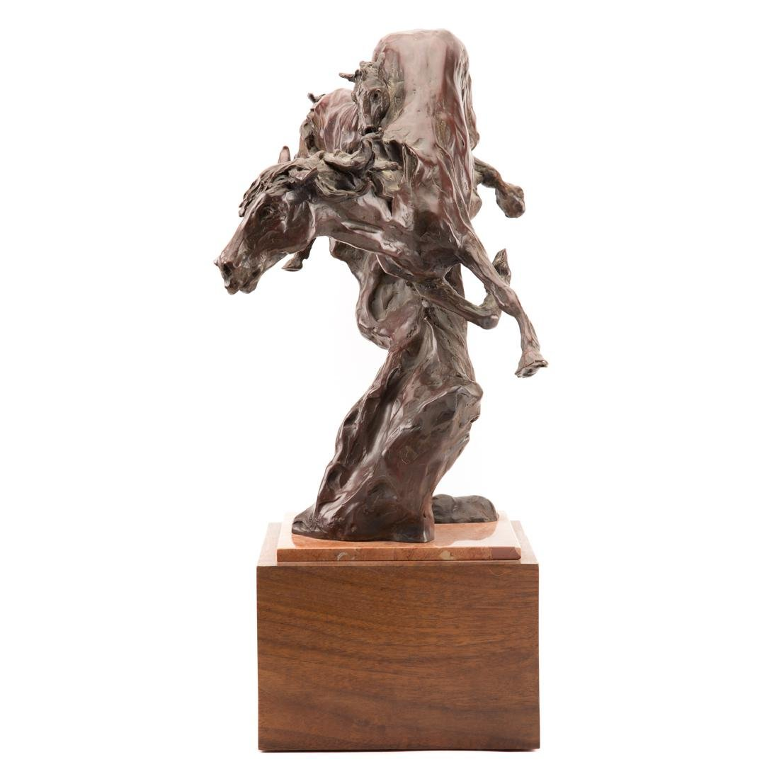 Jan Mapes. Joint Venture bronze - 2