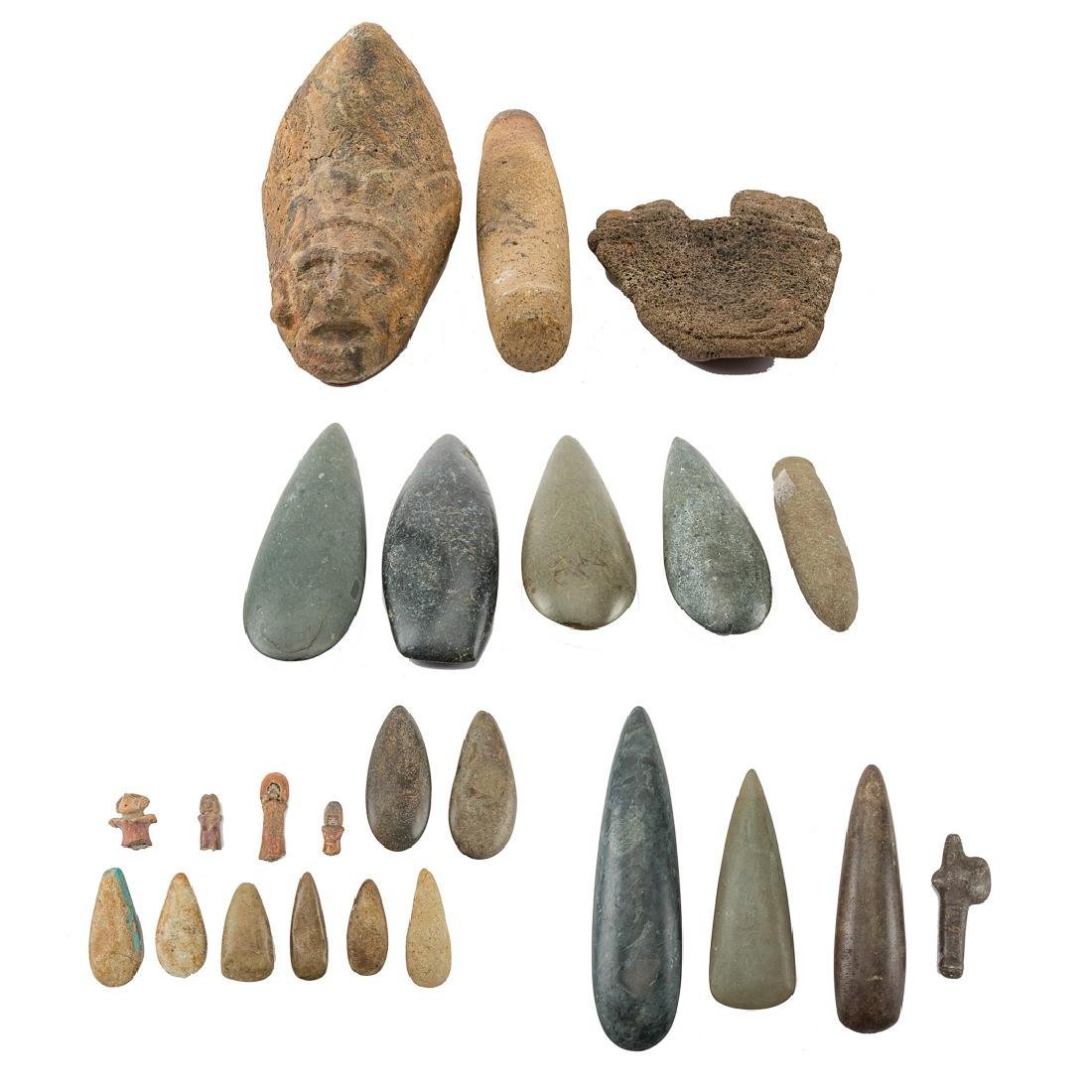 Assortment of Meso American primitives