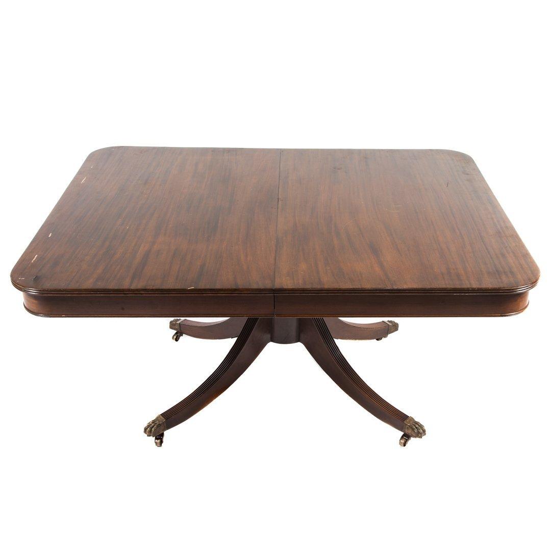 Potthast mahogany dining table