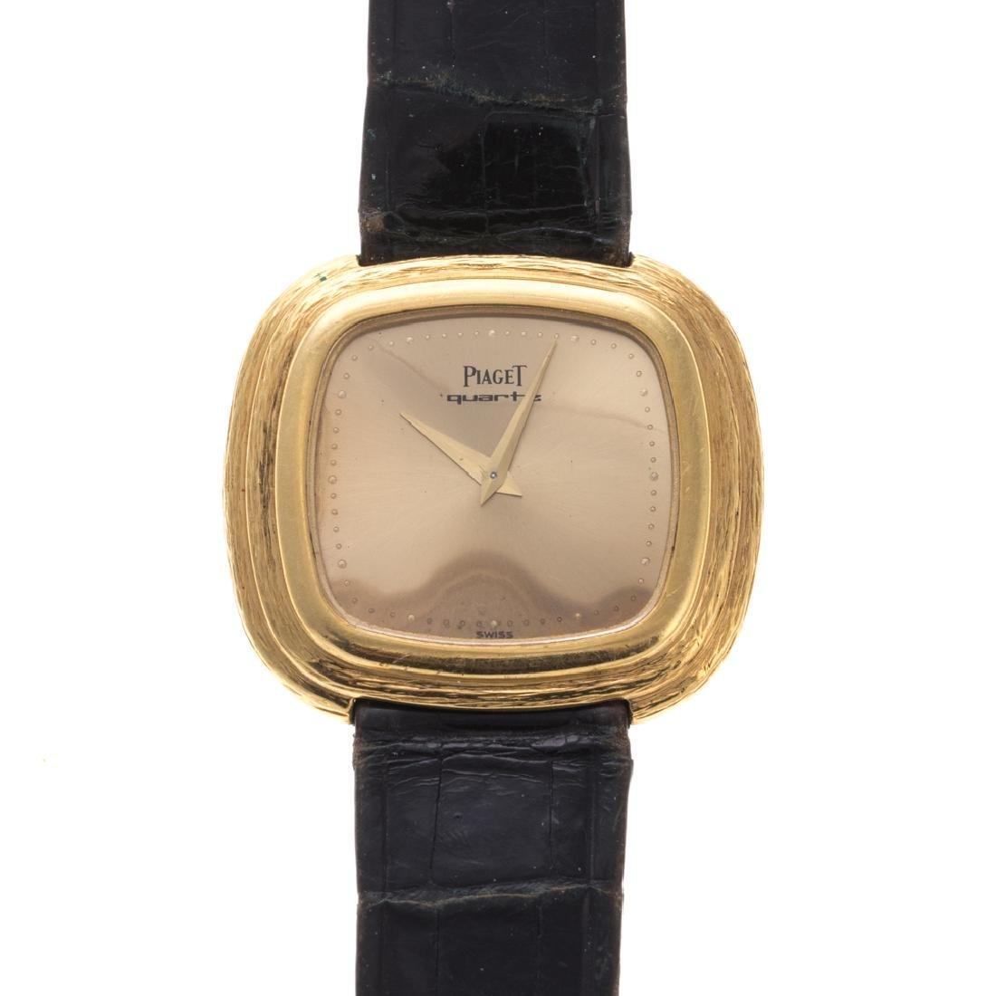A Gent's 18K Piaget Wrist Watch