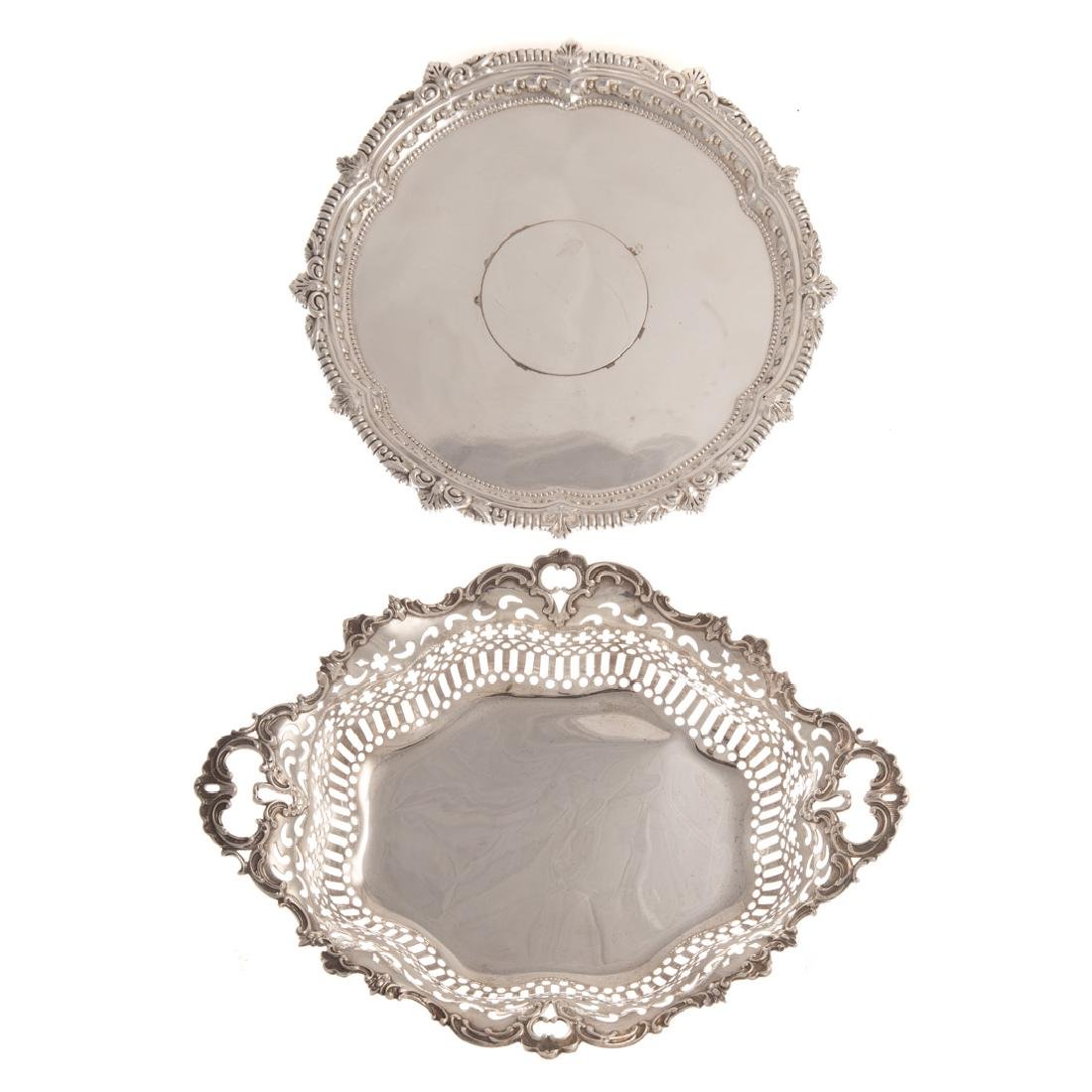 Two sterling items retailed by J E Caldwell