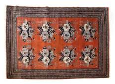 Persian Afshar rug approx 41 x 6
