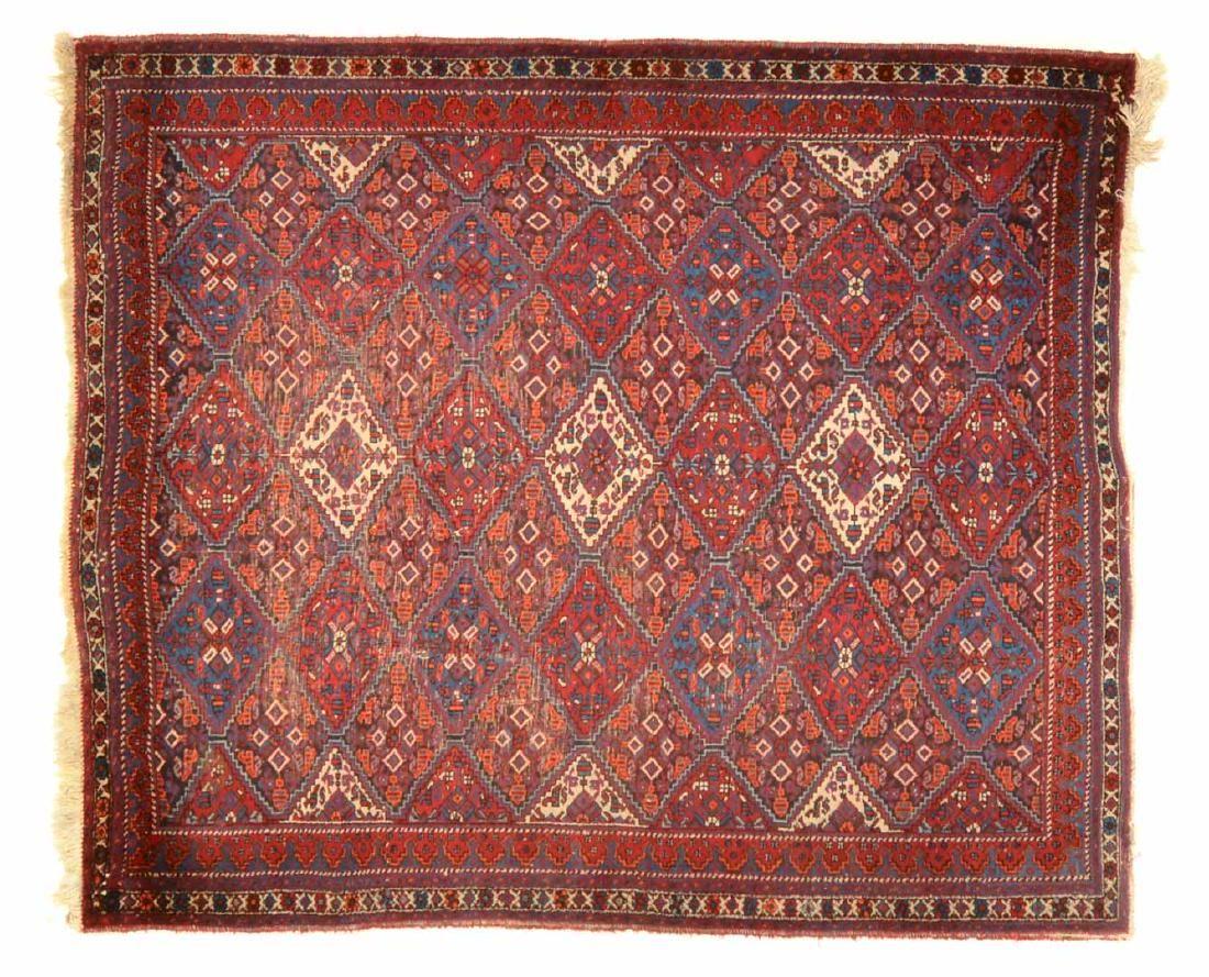 Persian Afshar rug, approx. 5.9 x 7