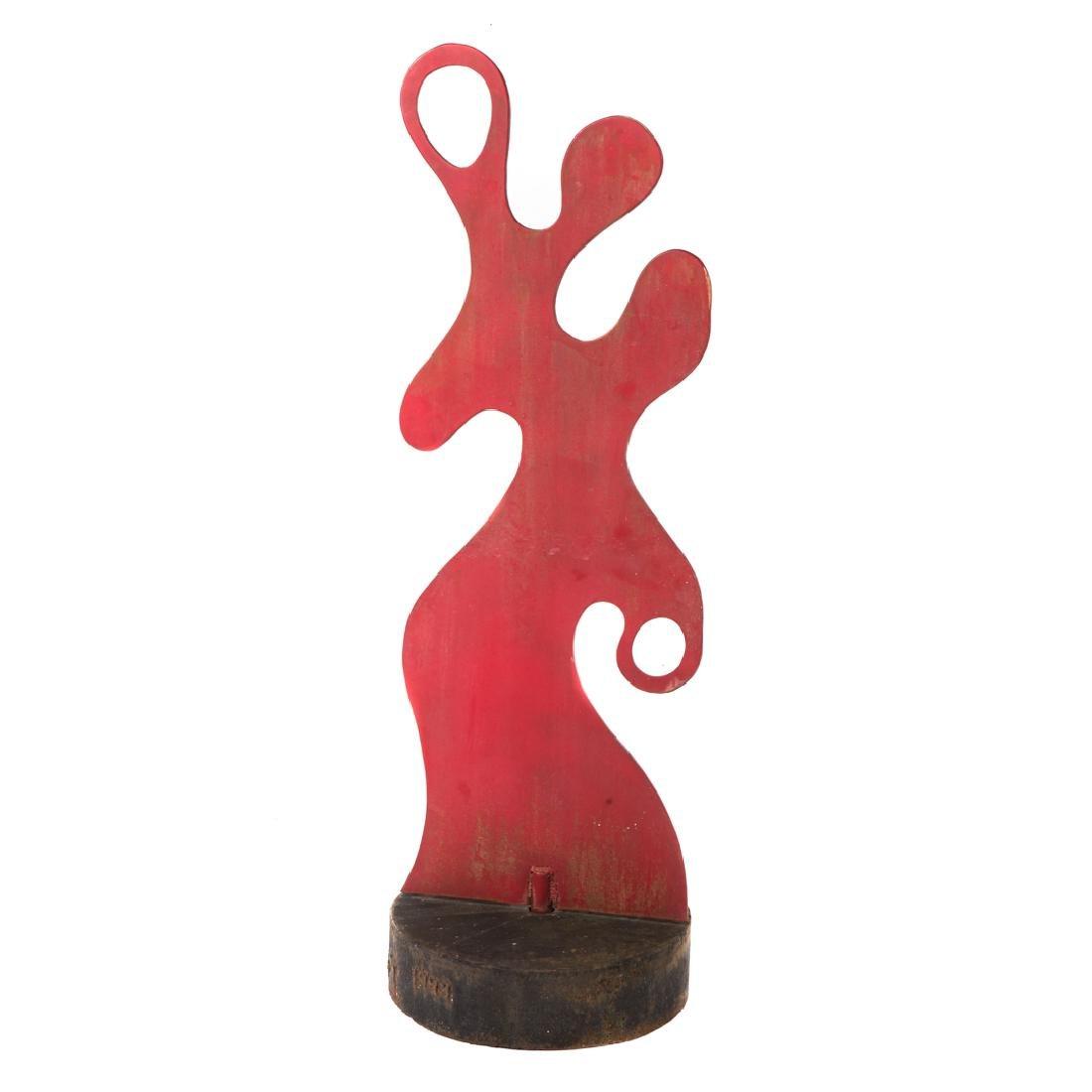 Christopher Solbert. Abstract Sculpture,sheet iron