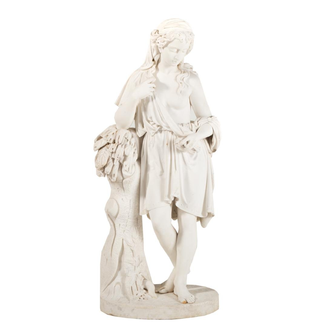 Carmelo Fontana, Allegory of the Harvest, marble