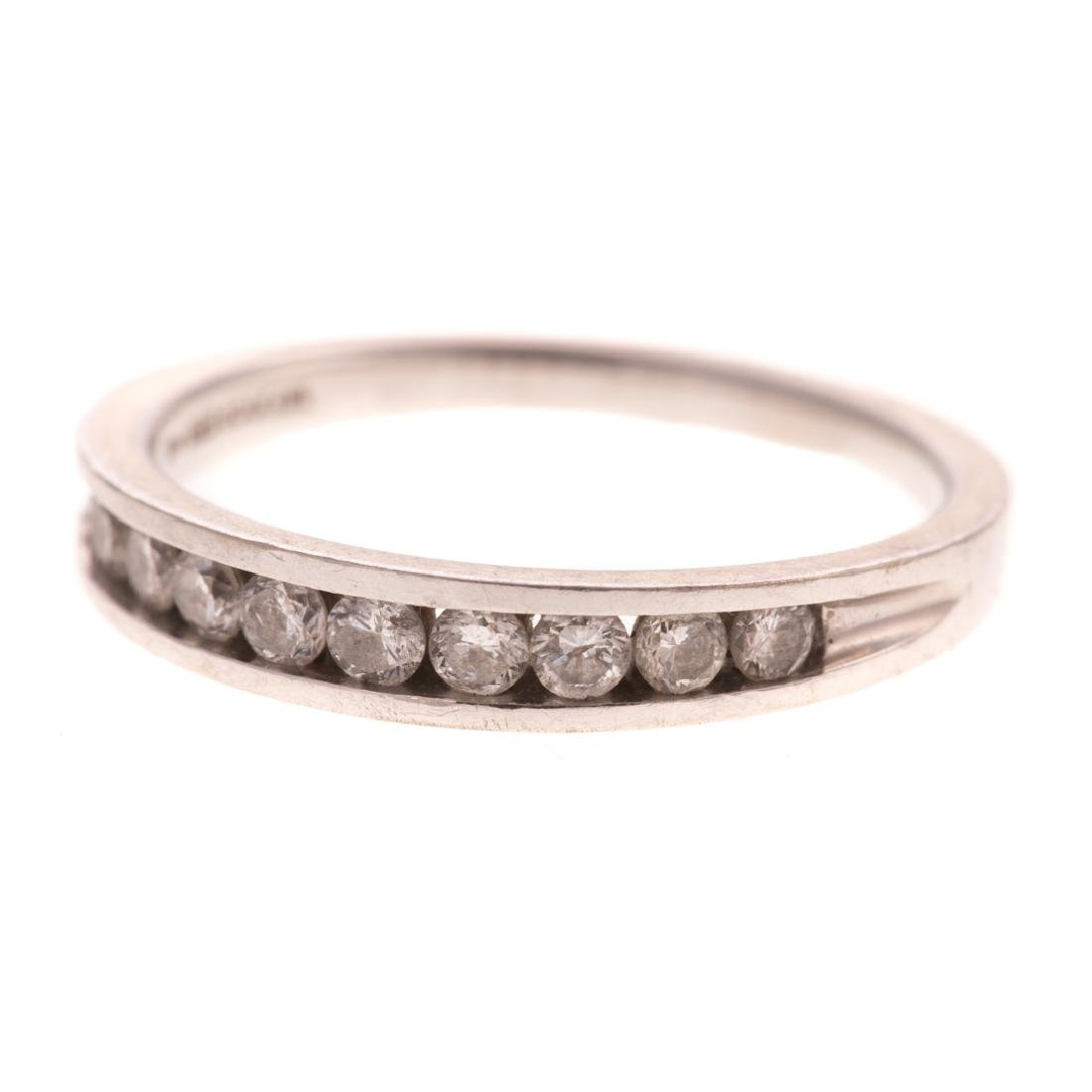 Two Lady's Diamond Wedding Bands in 14K Gold - 2