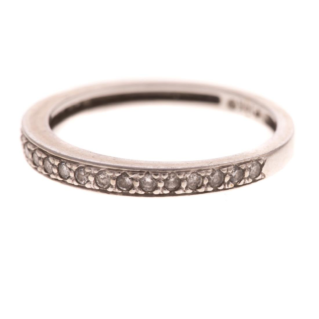 Two Lady's Diamond Wedding Bands in 14K Gold - 3